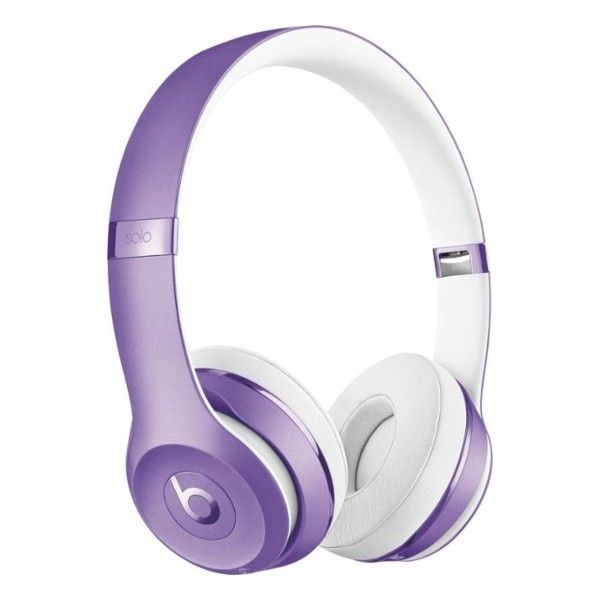 Beats By Dr Dre Beats Solo3 Wireless Headphones Purple Mp132ll A 300 Liked On Polyvore Feat Headphones Beats Headphones Wireless Wireless Headphones