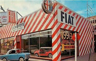 1950s Fiat DealerAlfa Romeo, Cars Dealership, Vintage Fiat, Los Angels, Throwback Thursday, Old Cars, Fiat 500, Alfaromeo, Fiat Dealership