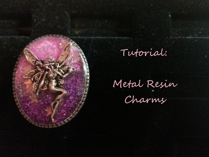 Embroidery - [TUTORIAL] Metal Resin Charms