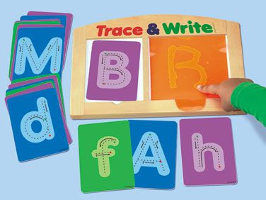 Trace & Write Alphabet Center | shopswell