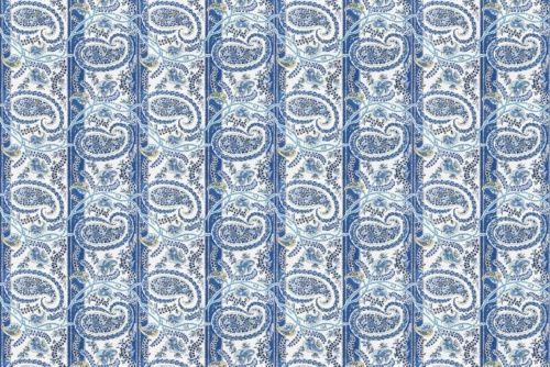 Thalien charlotte moss fabrics blueberry fabric for Fabric store charlotte nc
