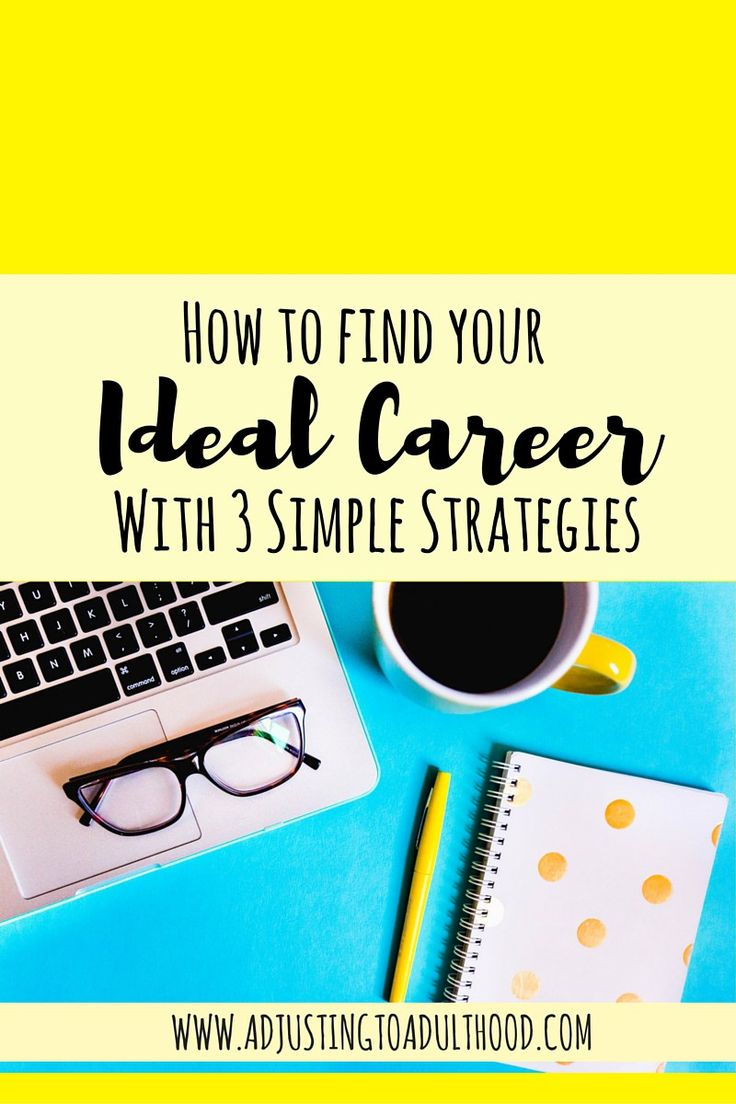 ideas about career assessment mental find your ideal career this worksheet and 3 simple strategies