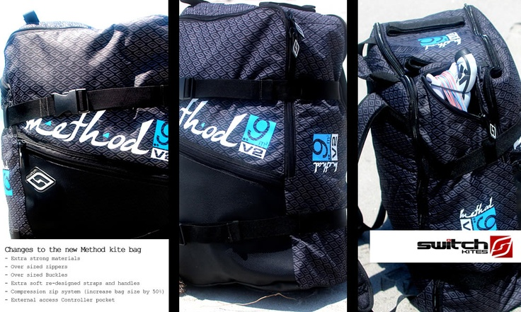 Switch Kites - Method2 Gear Bag  #Kitesurfing #Kiteboarding #SwitchKites #Method2