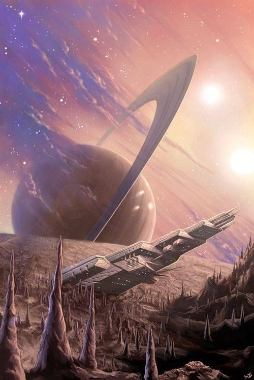 On some faraway planet, #spaceopera #scifi setting inspiration