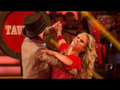 Kellie Bright and Kevin Clifton Viennese Waltz to 'Oom Pah Pah' - Strictly Come Dancing: 2015 - YouTube