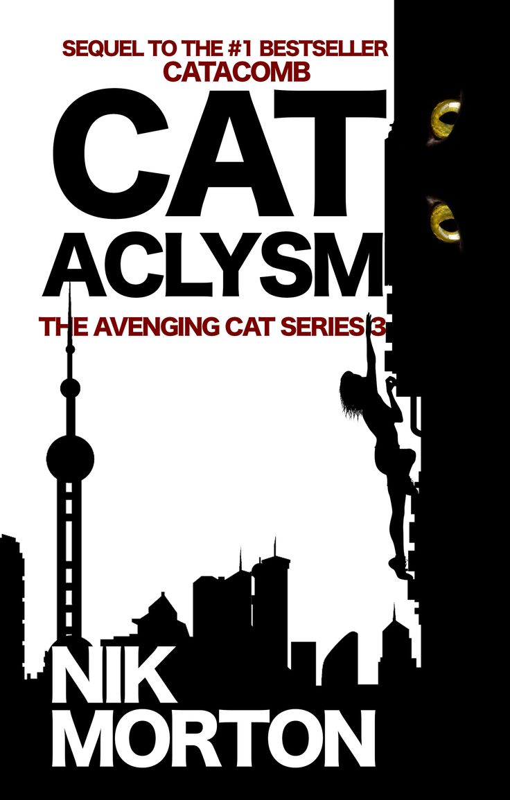 CATACLYSM sequel to CATACOMB, 3rd in the Avenging Cat series, set mainly in Morocco