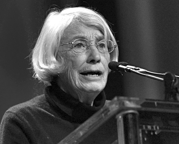 Mary Oliver- had the privilege to hear Mary Oliver read her lovely pieces at the Free Library of Philadelphia. The audience was attentive, captivated, appreciative