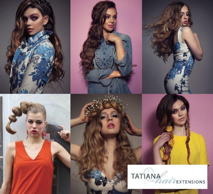 351 best work by tatiana karelina images on pinterest daughters 2015 summer hair trends forecast from tatiana hair extensions pmusecretfo Images