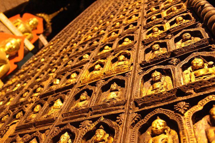 The Buddha cave near Inle Lake, Myanmar!