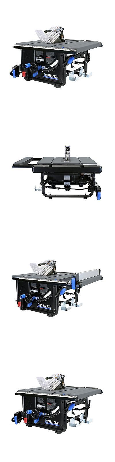 Table Saws 122835: Delta Power Tools 36-6010 10 Portable Table Saw Without A Stand -> BUY IT NOW ONLY: $381.69 on eBay!