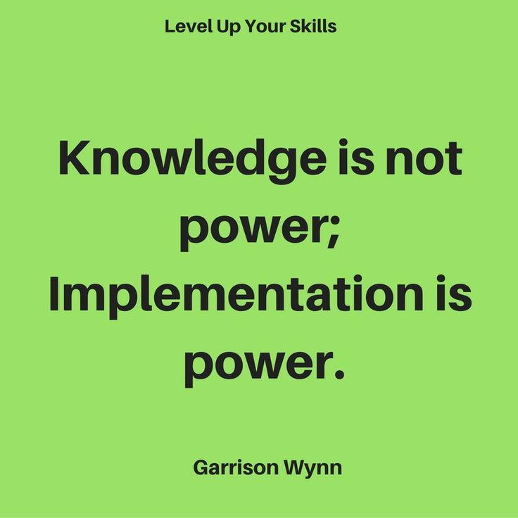 Essays power knowledge