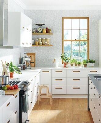 Shared from Flipp: SEKTION/MÄRSTA white kitchen in the IKEA flyer