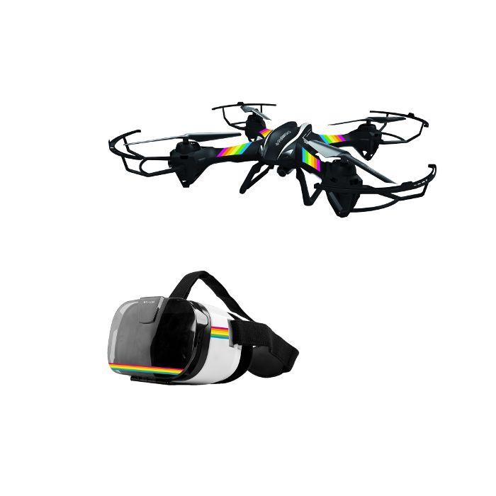 Polaroid Pack drone Falcon avec casque VR Noir à 179 EUR sur lick.fr