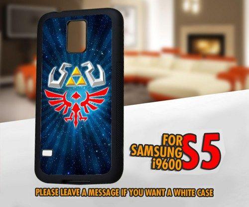 AJ 4199 Zelda Triforce Hyrule for Samsung Galaxy S5 Case