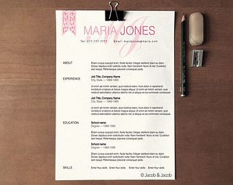 42 best Resume Design images on Pinterest | Resume design, Resume ...
