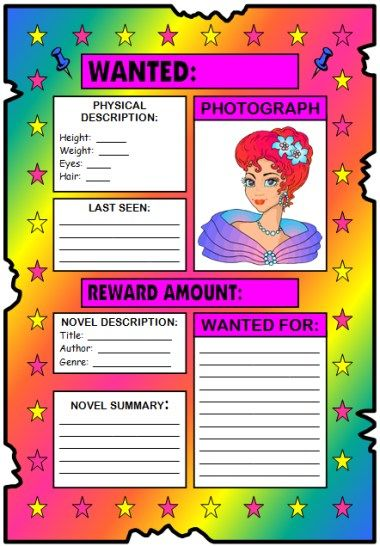 43 best images about Fun Book Report Projects and Templates on ...
