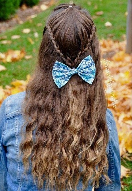 easy hairstyles for long thin hair #Easyhairstyles