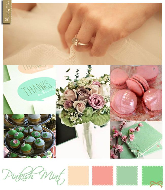 Wedding Moodboard | Pinkish Mint