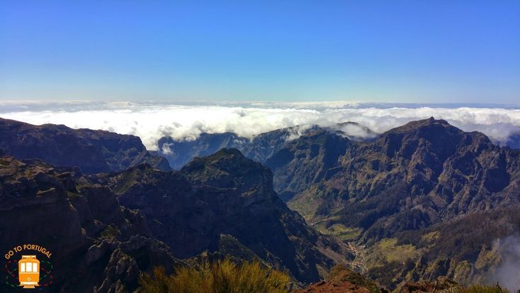 With its 1862 metres, Pico Ruivo is the highest point in the island of Madeira and the third highest peak in Portugal.