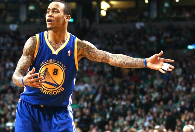 3/13/12: Warriors Trade Monta Ellis to the Bucks - happiness.(: