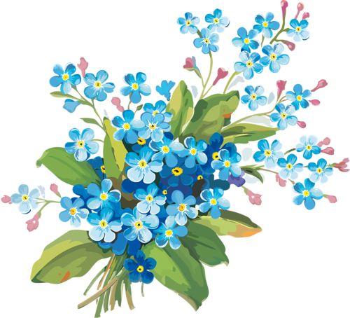 """Клипарт """"Весенние цветы"""". Обсуждение на LiveInternet - Российский Сервис Онлайн-Дневников"""