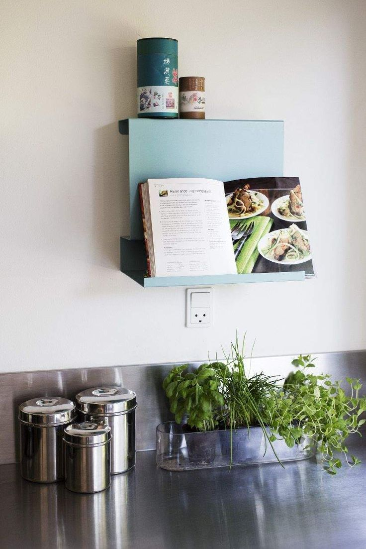 Big:Ledge is functional and pretty in the kitchen