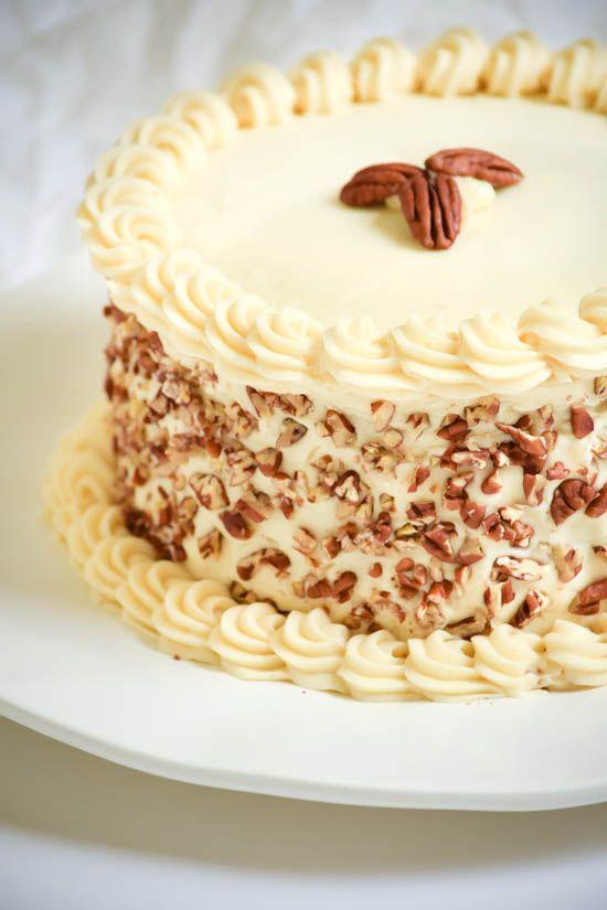 Italian Cream Cake with Cream Cheese Frosting