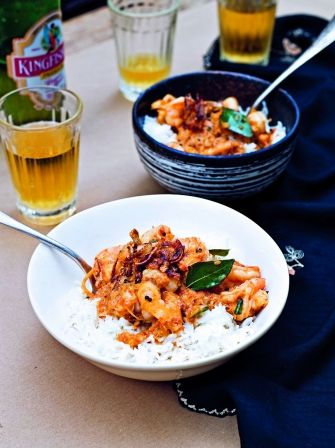 Malabar prawn curry is a beautiful aromatic curry from the Kerala region of India, this wonderful recipe from Jamie Oliver makes a perfectly rich version.