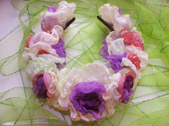 Free Shipping Wedding Headband Fabric by PassionateForBeauty, $98.00