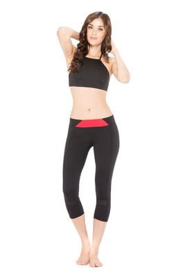 Bianca Crop Top - $72.95 - Featuring a high neckline with a feminine strap that crosses at the back giving support and comfort in all the right places.  #fireandshine #yoga #fashion #ethical #activewear #loungewear #bodylanguage #black