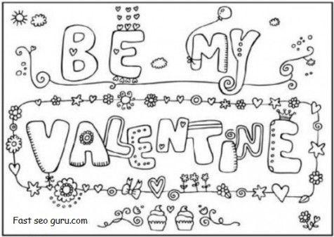 96 best iColor Little Kids Valentines images – Valentine Card Free Online