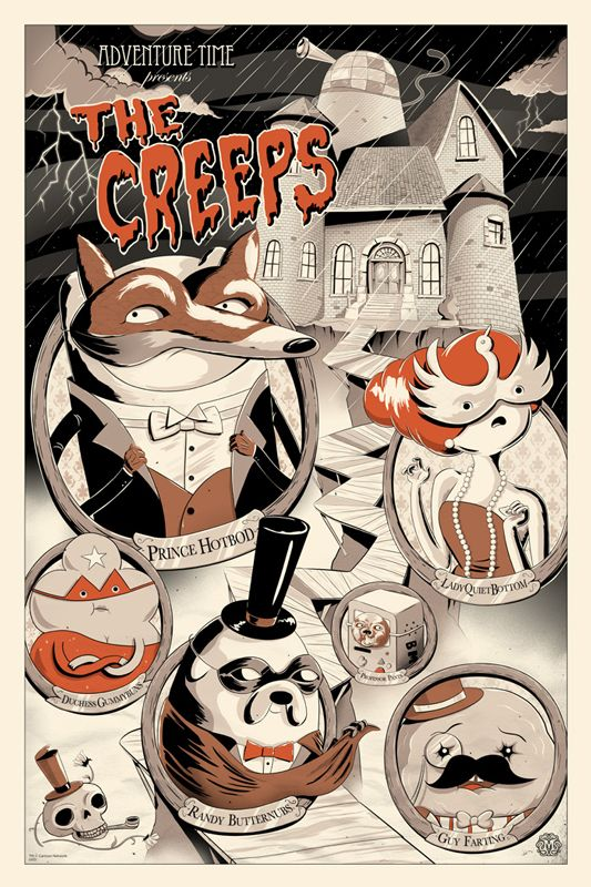 ADVENTURE TIME – The Creeps