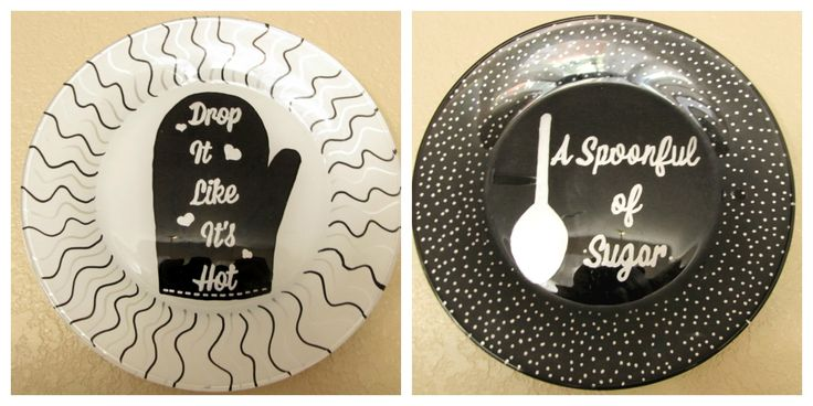DIY Painted Kitchen Plates