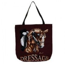Dressage Horse Tapestry Tote