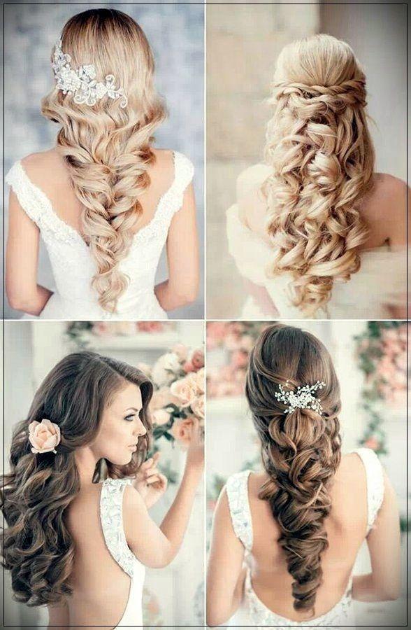 Brautfrisuren 2019: Fotos und Trends Nicht alle Frisuren eignen sich für eine Hochzeit. Brautfrisuren müssen sehr weiblich, romantisch und zart sein ...