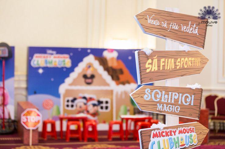 #disney #town #decorations #sportacus #frozen #mickey #minnie #violetta
