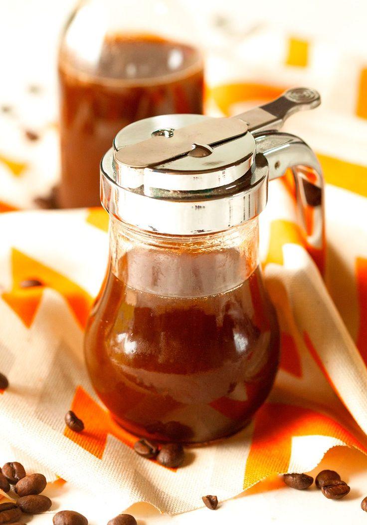 Pumpkin Spice Coffee Syrup via Deliciously Yum!