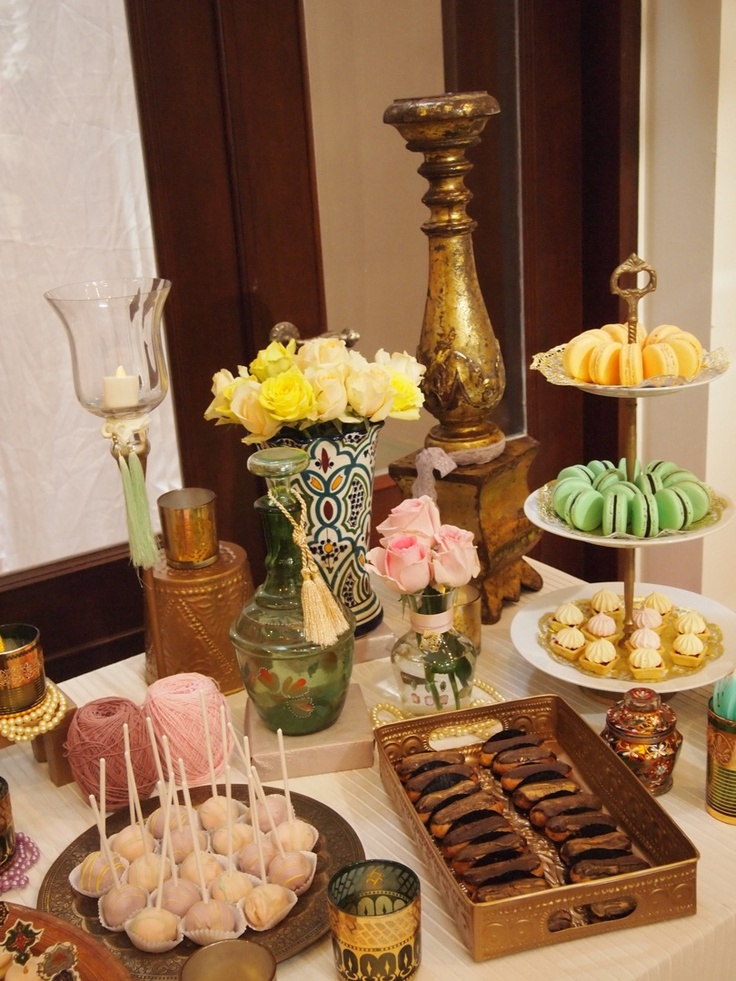 giftbyama's Morrocan Dessert Table