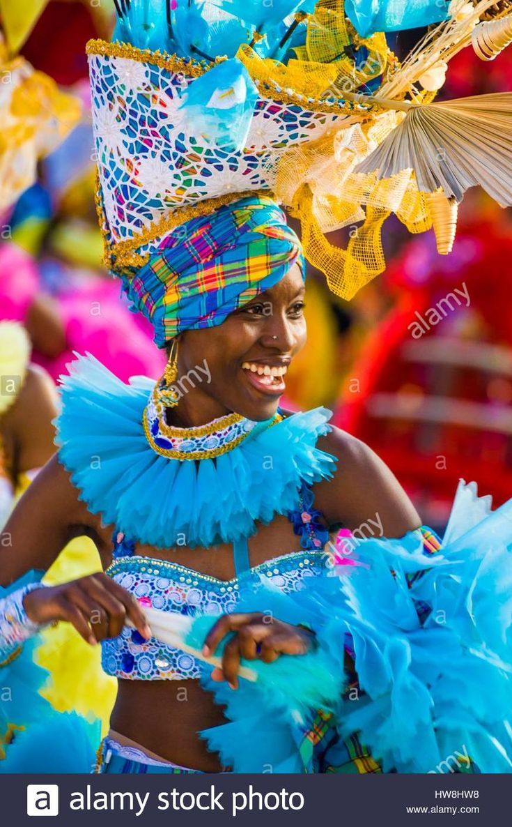 France, Guadeloupe, Grande Terre, Pointe a Pitre, dancer of the group