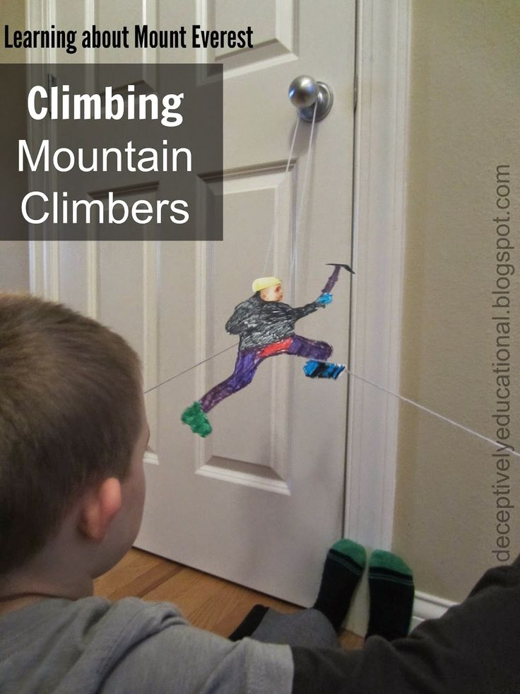 Relentlessly Fun, Deceptively Educational: Climbing Mountain Climbers (Learning about Everest)