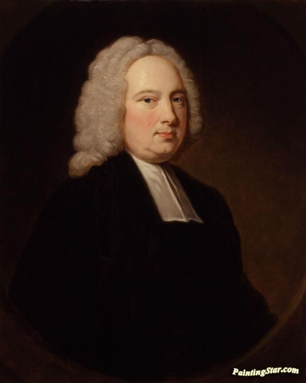 Portrait of james bradley(1693-1762) Artwork by Thomas Hudson Hand-painted and Art Prints on canvas for sale,you can custom the size and frame
