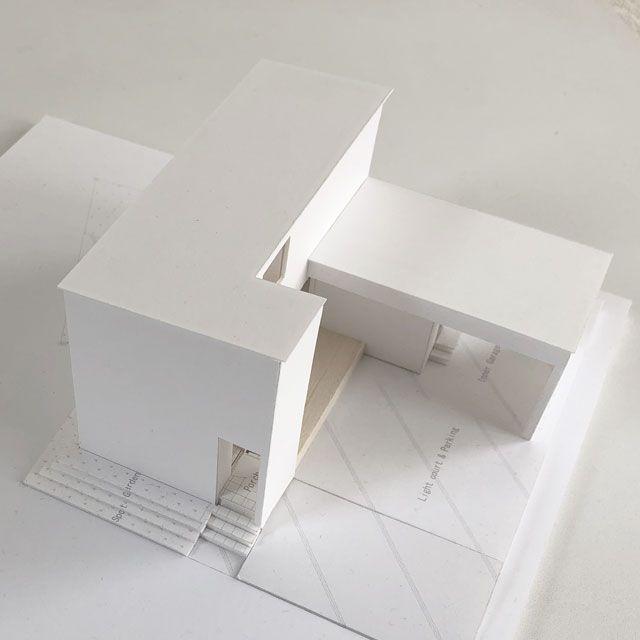 建築家が設計したデザイン住宅 住宅模型作品集 画像あり 住宅