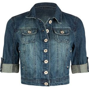 Love this shorter denim jacket from Tilleys with 3/4 sleeves.  Perfect for fall and spring and goes great with maxi dresses and skirts.  $30 plus shipping - great price!