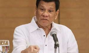 Philippines: Rodrigo Duterte orders soldiers to shoot female rebels 'in the vagina' Latest News