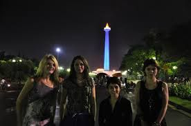 At monas Indonesia