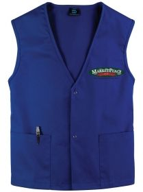 Promotional Products Ideas That Work: Twill Staff / Clerk Vest. Made in Canada. Get yours at www.luscangroup.com