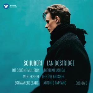 IAN BOSTRIDGE // Schubert: Die Schöne Müllerin, Winterreise, Schwanengesang [3CD + 1DVD]