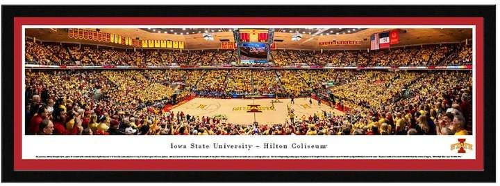 Blakeway Worldwide Panoramas Iowa State Cyclones Basketball Arena Framed Wall Art