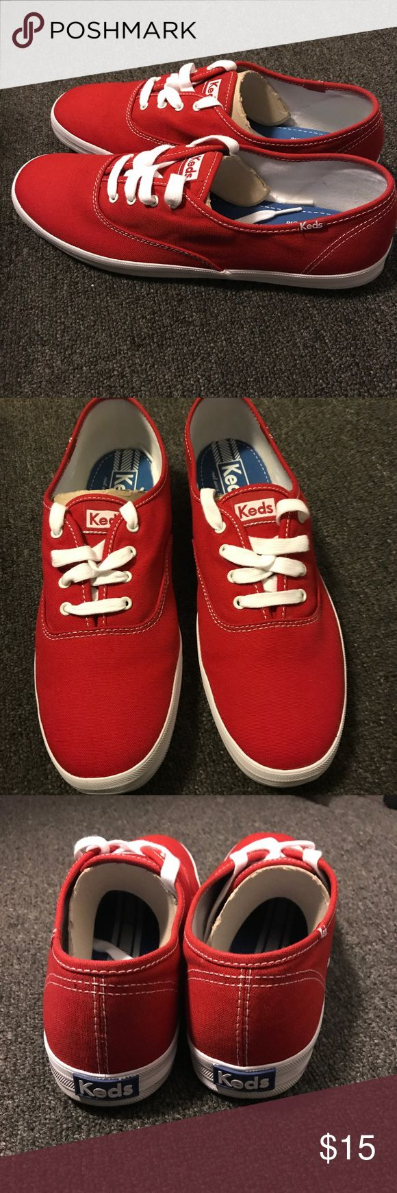 Keds canvas shoes Worn once new Keds size 11 Shoes