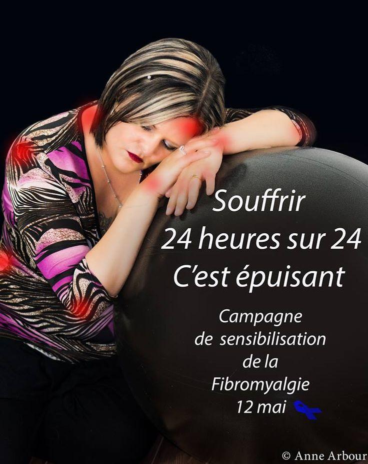 bonjour. je m'appelle Anne et j'ai la fibromyalgie. Je fais une campagne de sensibilisation pour faire connaitre la fibromyalgie.Une maladie encore trop inconnu de la population. la fibromyalgie est caractérisée par des douleurs musculaires diffuses, un sommeil non réparateur et une fatigue persistante dont l'impact sur l'activité professionnelle et même sur les gestes de la vie quotidienne est affecté 5 % de la population est atteinte de la fibromyalgie,